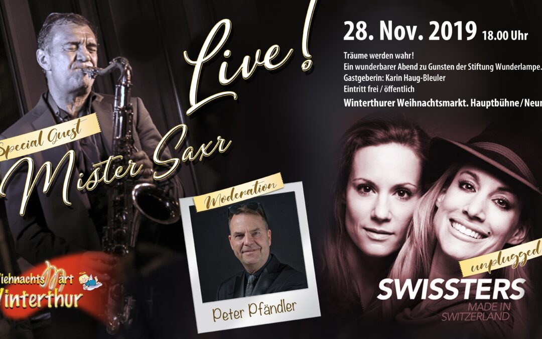see you soon! Swissters live and unplugged in Winterthur